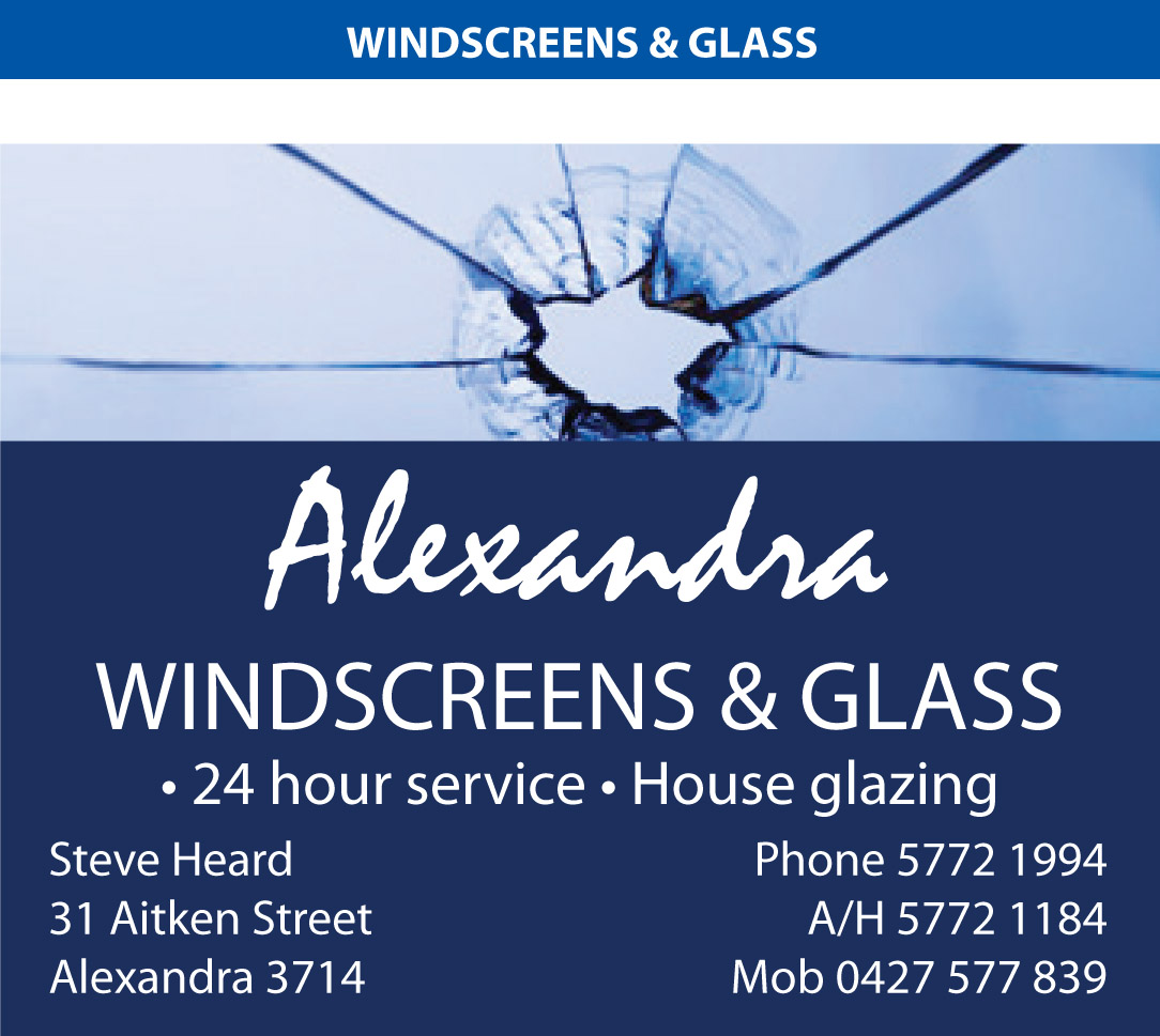 Alexandra Windscreens and Glass