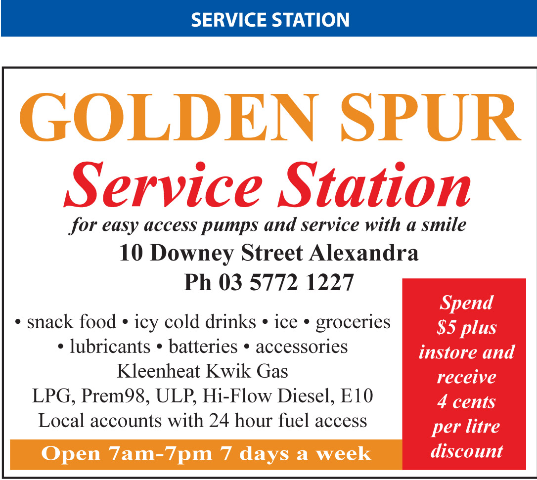 Golden SpurService Station