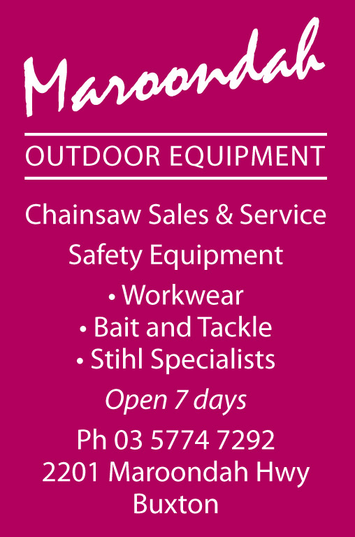 Maroondah Outdoor Equipment