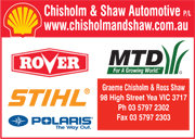 Chisholm & Shaw Automotive P/L