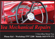 Yea Mechanical Repairs